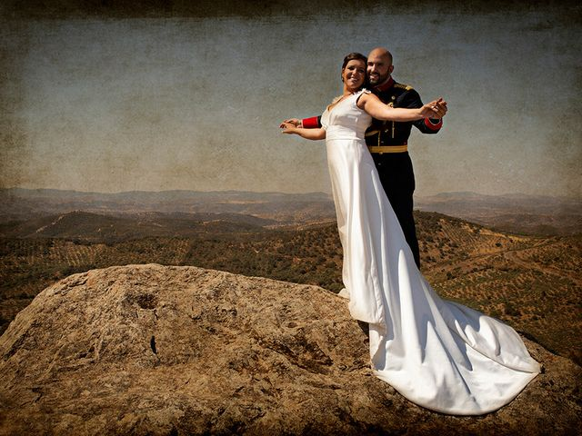 La boda de Raquel y Jose Antonio en Montemolin, Badajoz 1