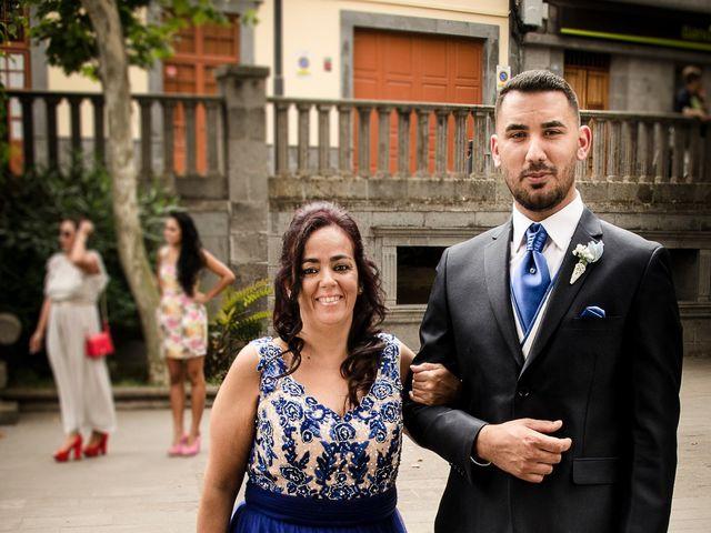 La boda de Domingo y Amanda en Firgas, Las Palmas 5