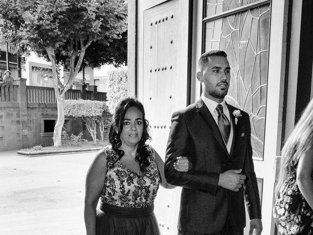 La boda de Domingo y Amanda en Firgas, Las Palmas 6