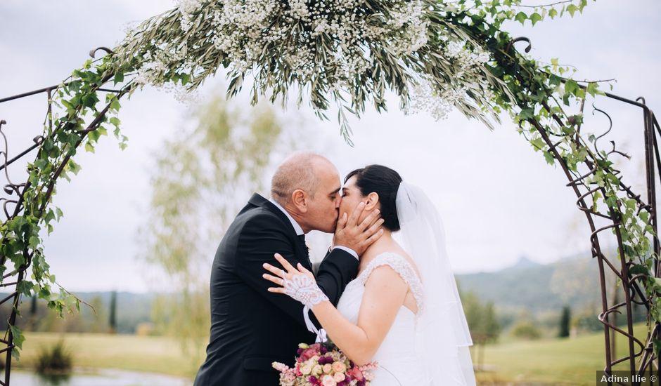La boda de Javier y Cristina en Santa Coloma De Farners, Girona