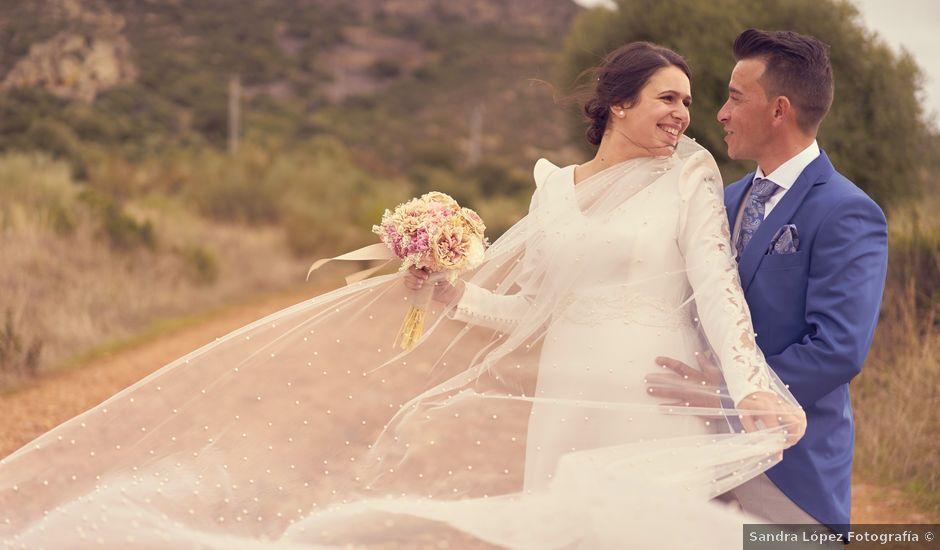 La boda de Miguel Ángel y María en Calamonte, Badajoz