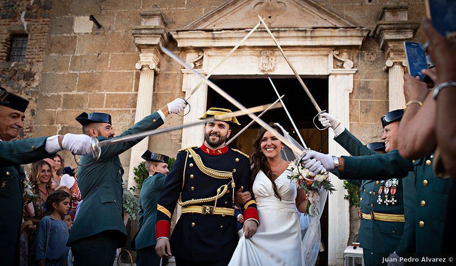 La boda de Raquel y Jose Antonio en Montemolin, Badajoz