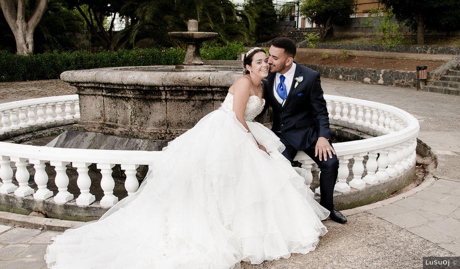 La boda de Domingo y Amanda en Firgas, Las Palmas