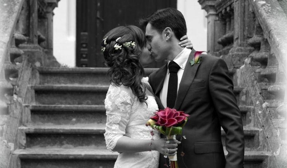 La boda de Isabel y Ivan en Vilobi D'onyar, Girona