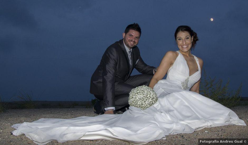 La boda de Aida y Ernest en Miami-platja, Tarragona
