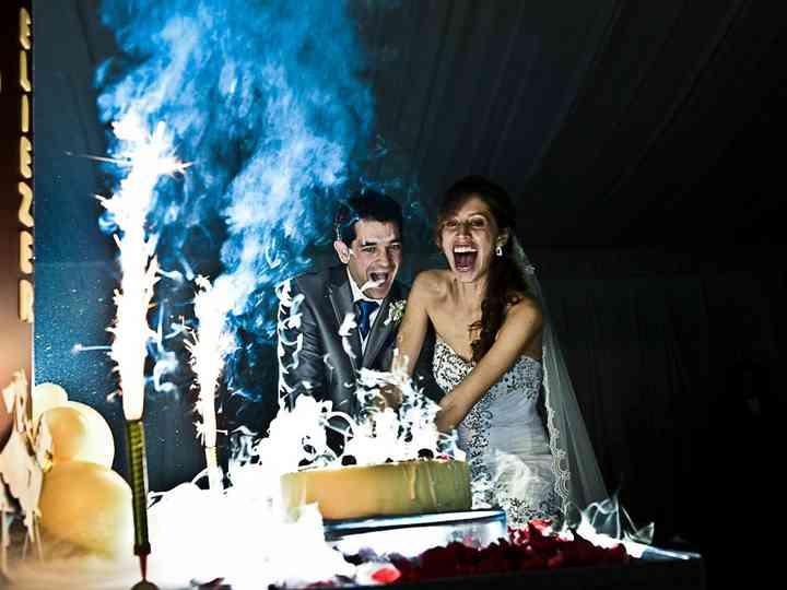 La boda de Paola y Eliezer