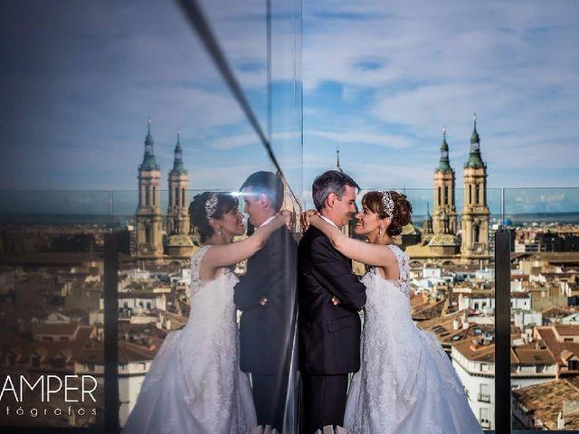 La boda de David y Paloma en Zaragoza, Zaragoza 1