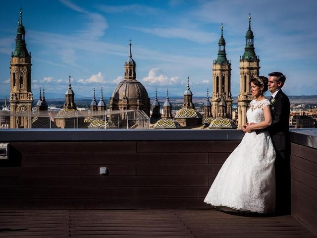 La boda de David y Paloma en Zaragoza, Zaragoza 4