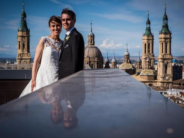 La boda de David y Paloma en Zaragoza, Zaragoza 6