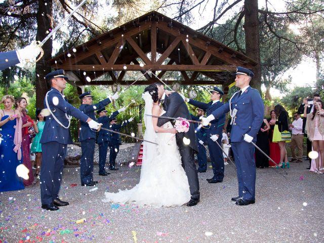 La boda de Adrián y Sara en Madrid, Madrid 36
