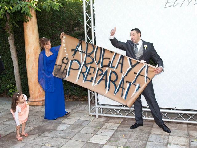 La boda de Adrián y Sara en Madrid, Madrid 49