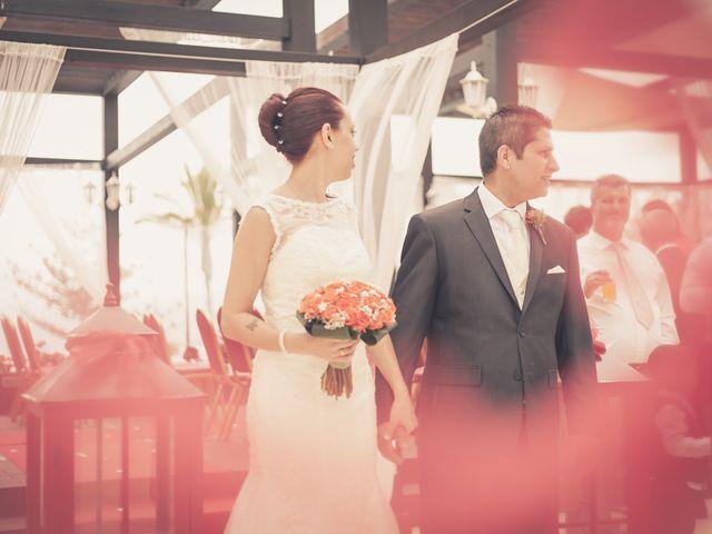 La boda de Matias y Agora en Puerto De La Cruz, Santa Cruz de Tenerife 1