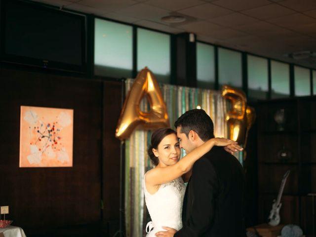 La boda de Felipe y Almudena en Vigo, Pontevedra 35