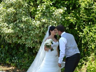 La boda de César y Mihaela