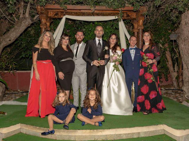 La boda de David y Ángela en Elx/elche, Alicante 55
