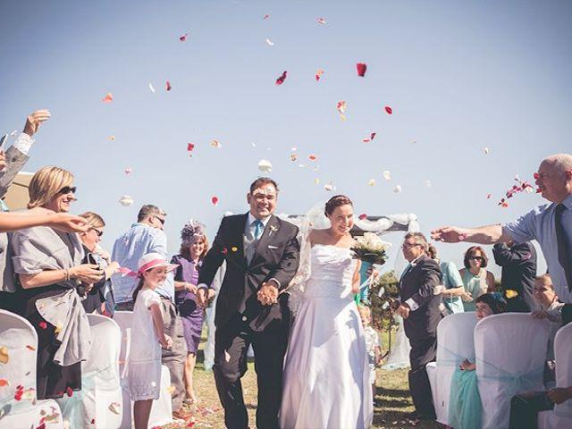 La boda de Mark  y Bibiana  en Montbrio Del Camp, Tarragona 1
