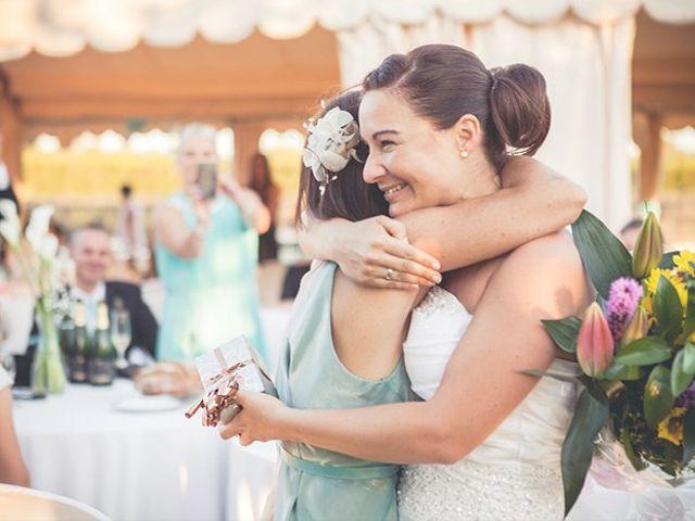 La boda de Mark  y Bibiana  en Montbrio Del Camp, Tarragona 2