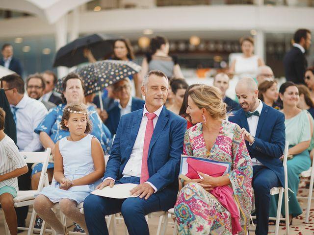 La boda de Antonio y Cristina en La Manga Del Mar Menor, Murcia 41
