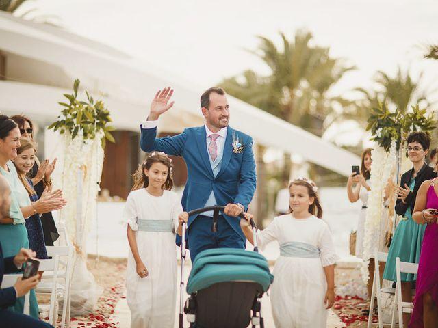 La boda de Antonio y Cristina en La Manga Del Mar Menor, Murcia 42