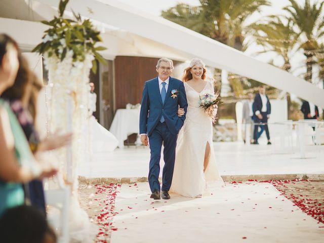 La boda de Antonio y Cristina en La Manga Del Mar Menor, Murcia 43