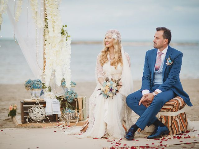 La boda de Antonio y Cristina en La Manga Del Mar Menor, Murcia 46
