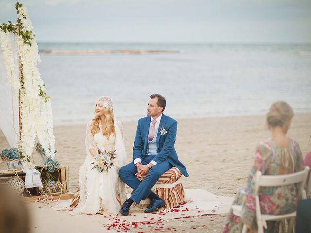 La boda de Antonio y Cristina en La Manga Del Mar Menor, Murcia 47