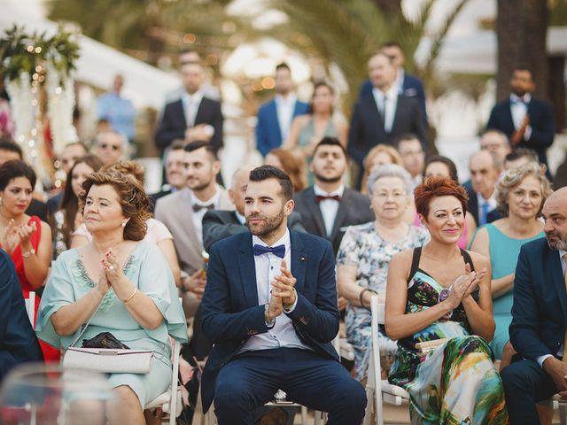 La boda de Antonio y Cristina en La Manga Del Mar Menor, Murcia 48