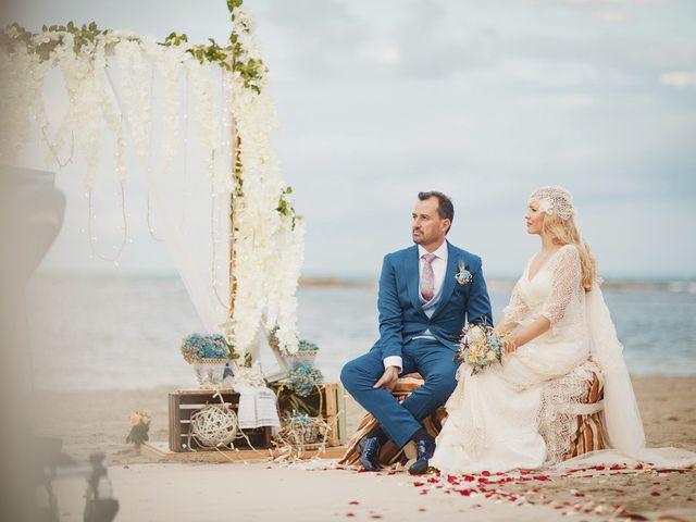 La boda de Antonio y Cristina en La Manga Del Mar Menor, Murcia 50