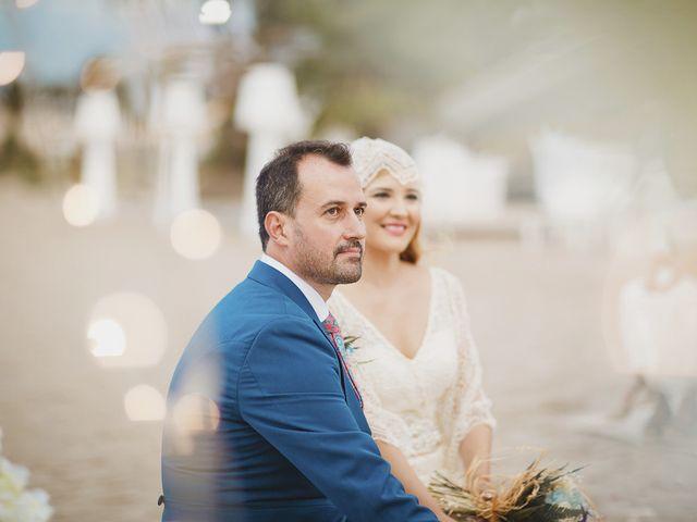 La boda de Antonio y Cristina en La Manga Del Mar Menor, Murcia 51