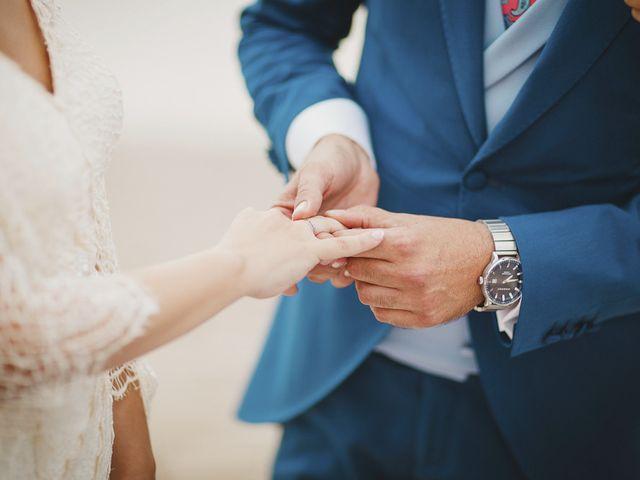 La boda de Antonio y Cristina en La Manga Del Mar Menor, Murcia 59