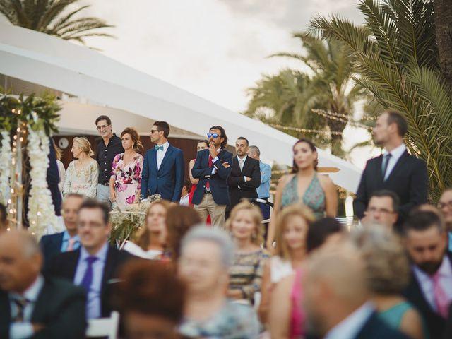 La boda de Antonio y Cristina en La Manga Del Mar Menor, Murcia 61