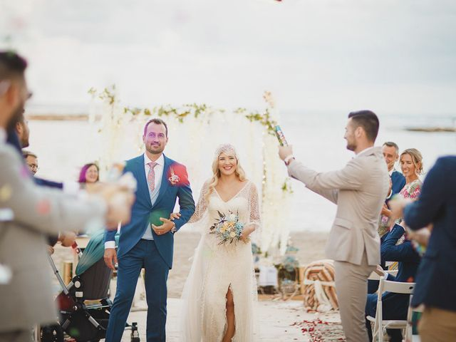 La boda de Antonio y Cristina en La Manga Del Mar Menor, Murcia 63