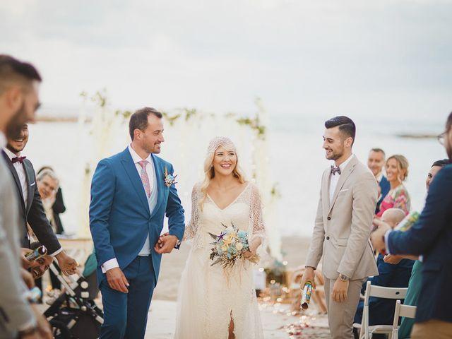 La boda de Antonio y Cristina en La Manga Del Mar Menor, Murcia 64