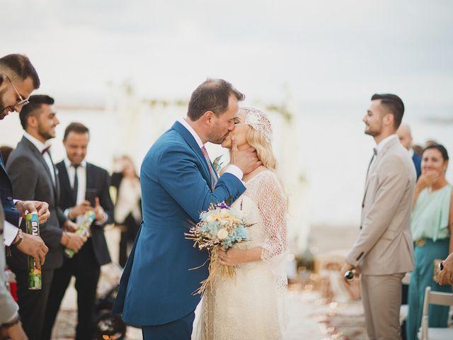 La boda de Antonio y Cristina en La Manga Del Mar Menor, Murcia 65