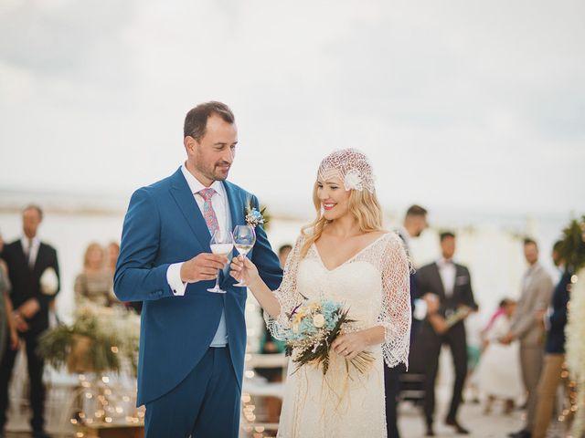 La boda de Antonio y Cristina en La Manga Del Mar Menor, Murcia 66