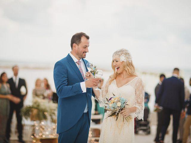 La boda de Antonio y Cristina en La Manga Del Mar Menor, Murcia 67