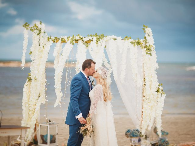 La boda de Antonio y Cristina en La Manga Del Mar Menor, Murcia 75