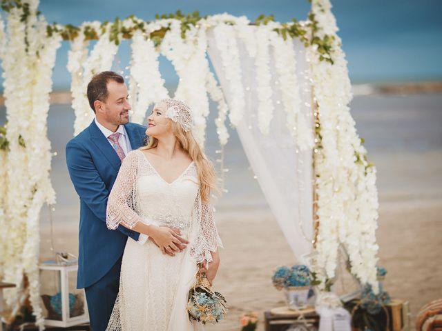 La boda de Antonio y Cristina en La Manga Del Mar Menor, Murcia 77