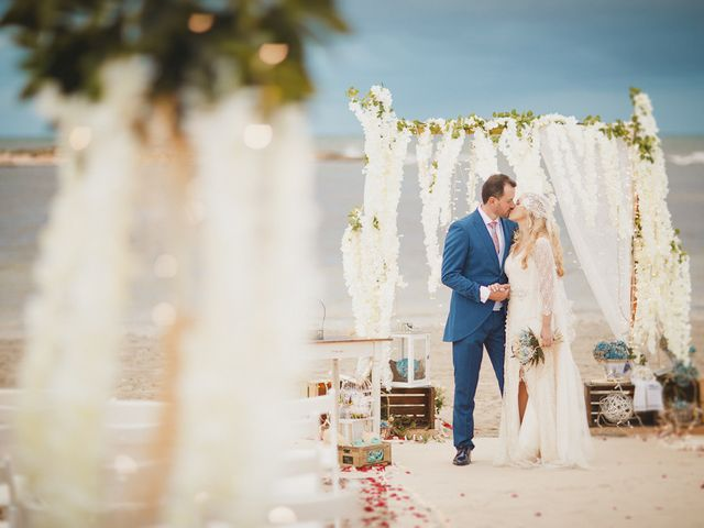 La boda de Antonio y Cristina en La Manga Del Mar Menor, Murcia 81