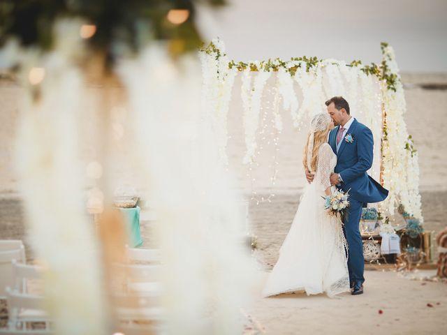 La boda de Antonio y Cristina en La Manga Del Mar Menor, Murcia 92