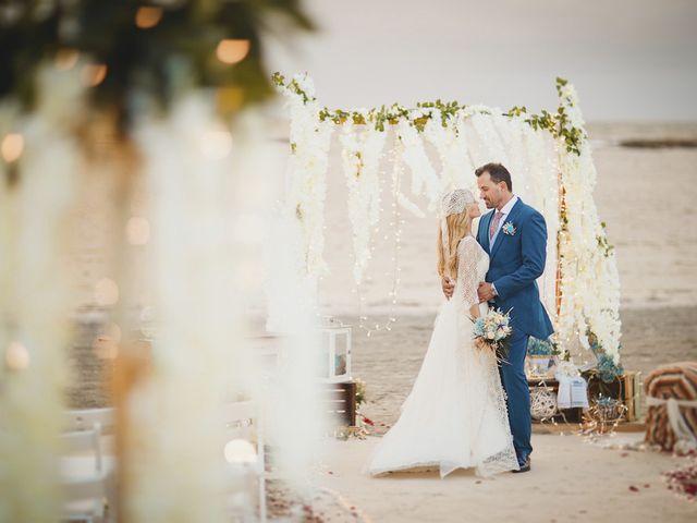 La boda de Antonio y Cristina en La Manga Del Mar Menor, Murcia 2