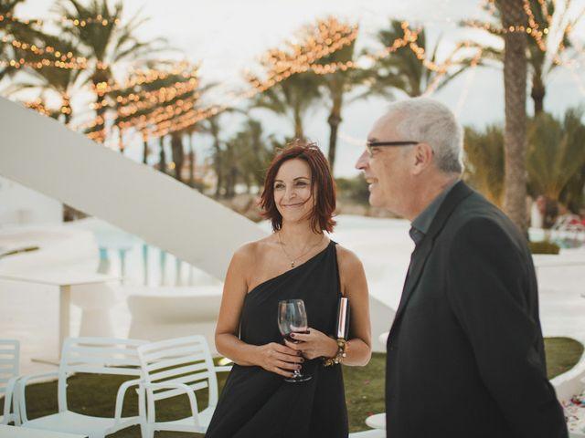 La boda de Antonio y Cristina en La Manga Del Mar Menor, Murcia 95