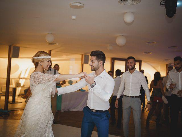 La boda de Antonio y Cristina en La Manga Del Mar Menor, Murcia 115