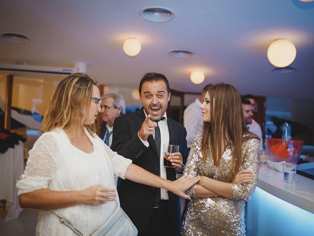 La boda de Antonio y Cristina en La Manga Del Mar Menor, Murcia 116