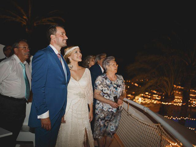 La boda de Antonio y Cristina en La Manga Del Mar Menor, Murcia 120