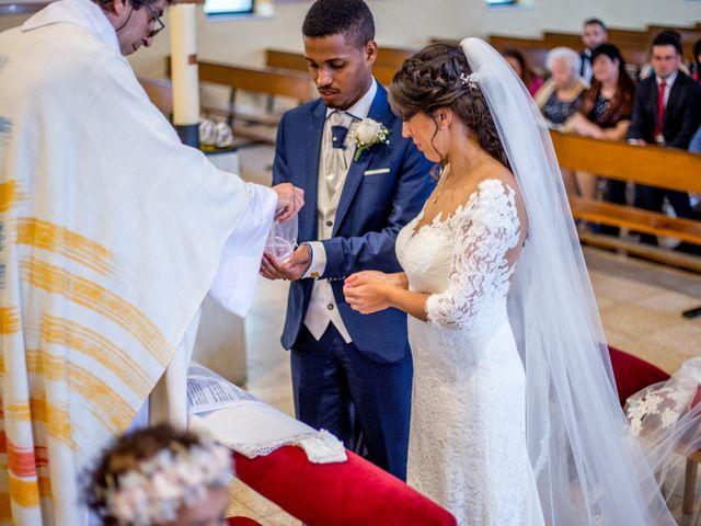 La boda de Junior y Sheila en Villamayor, Salamanca 13