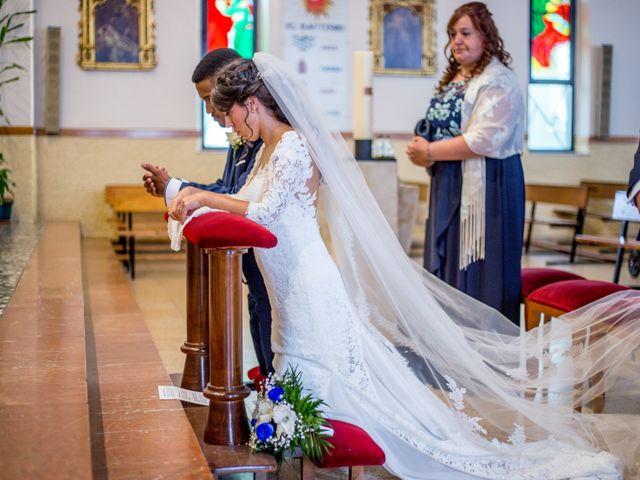La boda de Junior y Sheila en Villamayor, Salamanca 14