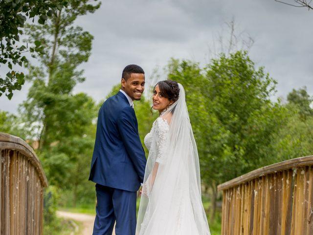 La boda de Junior y Sheila en Villamayor, Salamanca 19