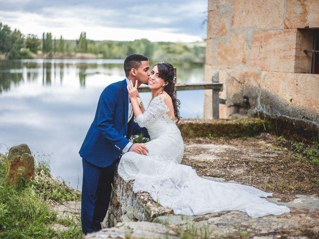 La boda de Junior y Sheila en Villamayor, Salamanca 26