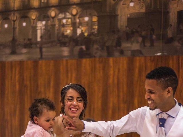 La boda de Junior y Sheila en Villamayor, Salamanca 45